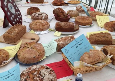 Bakery section at Swinford agricultural show