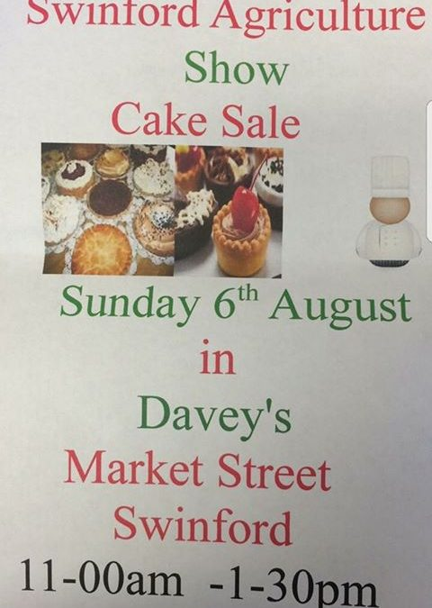 2017 Swinford Agricultural Show Cake Sale